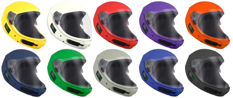 Square1 Kiss skydiving helmet colours product image