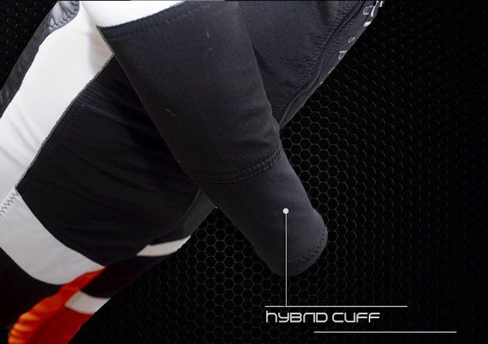 Vertex flex suit hybrid cuff