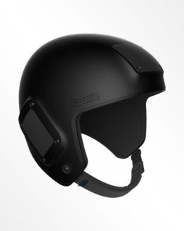 Cookie Fuel openface skydiving helmet black