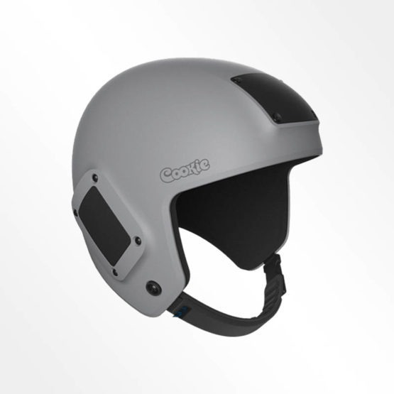 Cookie Fuel open face skydiving helmet charcoal grey