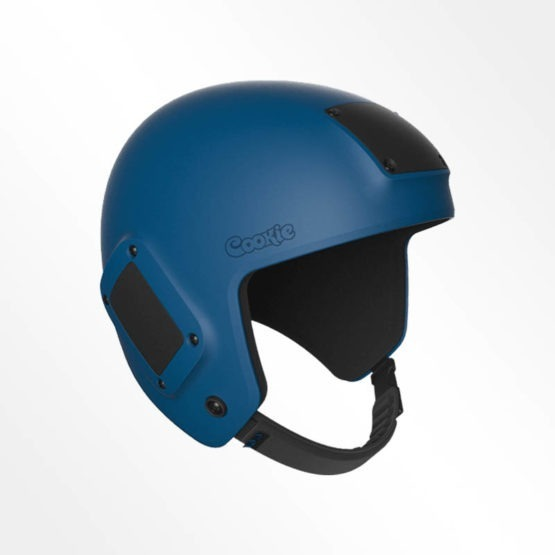 Cookie Fuel open face skydiving helmet navy blue