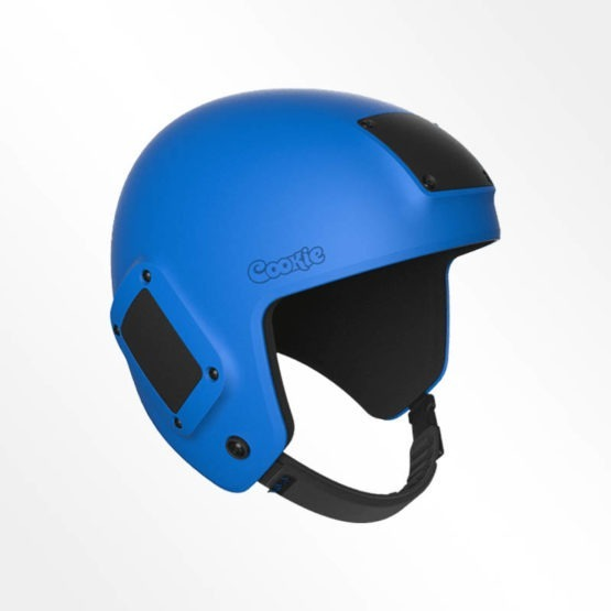 Cookie Fuel open face skydiving helmet royal blue
