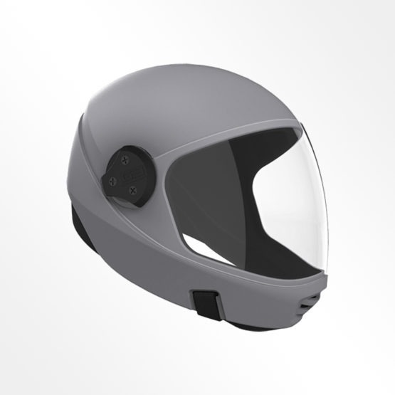 Cookie G3 skydiving helmet Charcoal