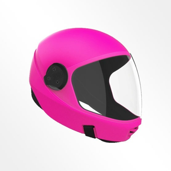 Cookie G3 skydiving helmet Hot Pink