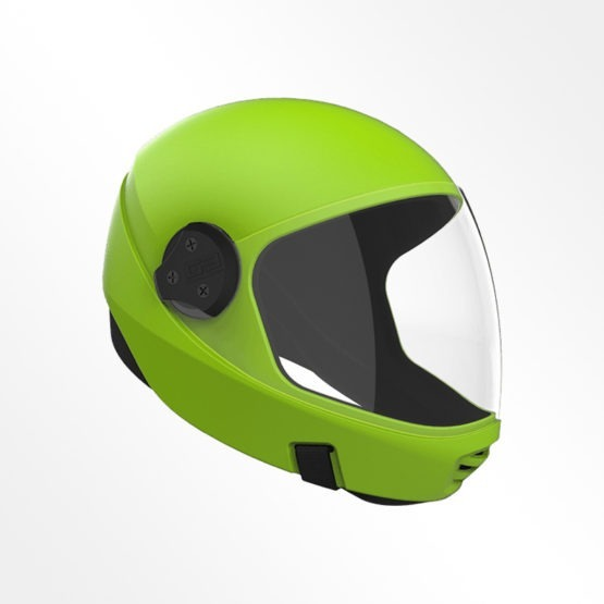 Cookie G3 skydiving helmet Lime Green