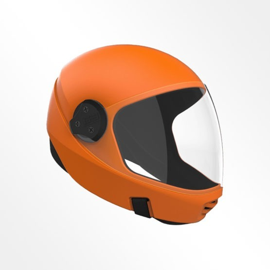 Cookie G3 skydiving helmet Orange