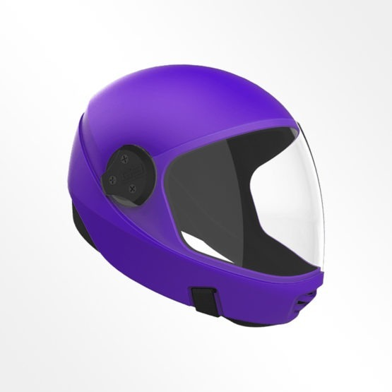 Cookie G3 skydiving helmet Purple