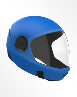 Cookie G3 skydiving helmet Royal Blue