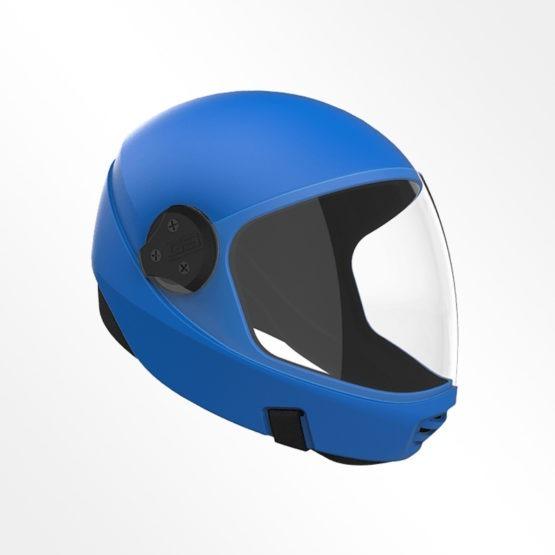 Cookie G3 skydiving helmet Royal Blue
