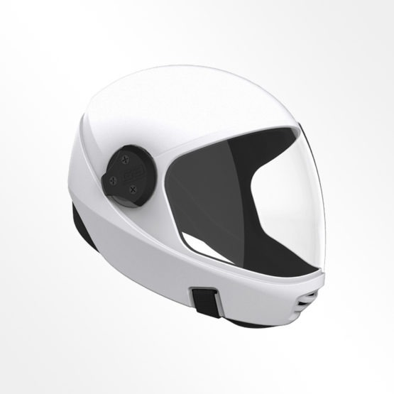 Cookie G3 skydiving helmet White
