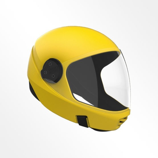 Cookie G3 skydiving helmet Yellow