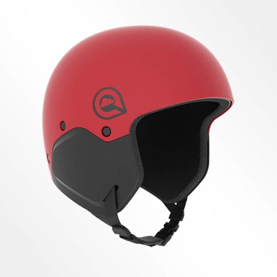 Cookie M3 impact rated skydiving helmet in red