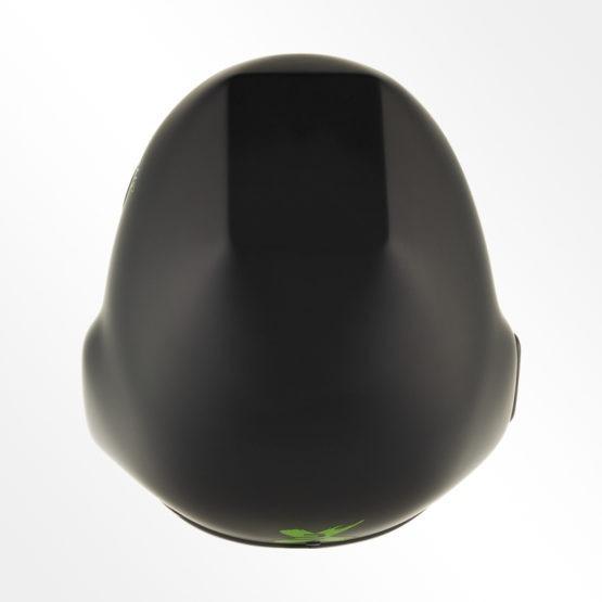 Tonfly 2X camera helmet black top view