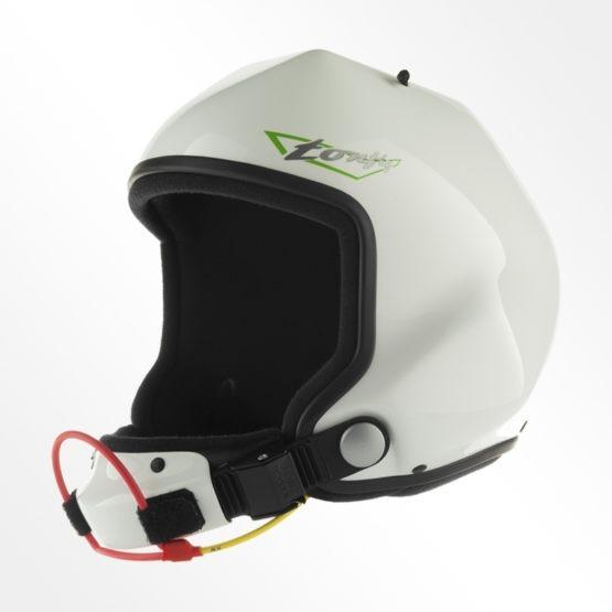 Tonfly 2X camera helmet white