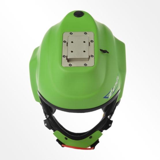 Tonfly CC1 Camera helmet Green top view
