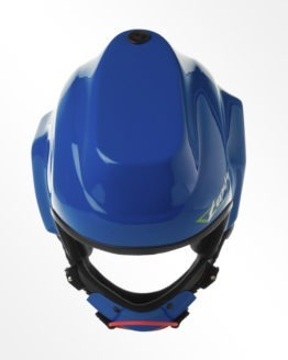 Tonfly CC1 Camera Helmet Blue top view