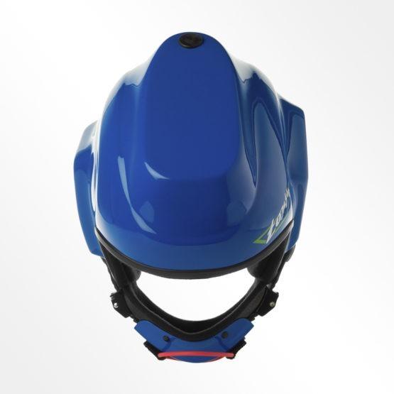 Tonfly CC1 Camera Helmet Blue top view