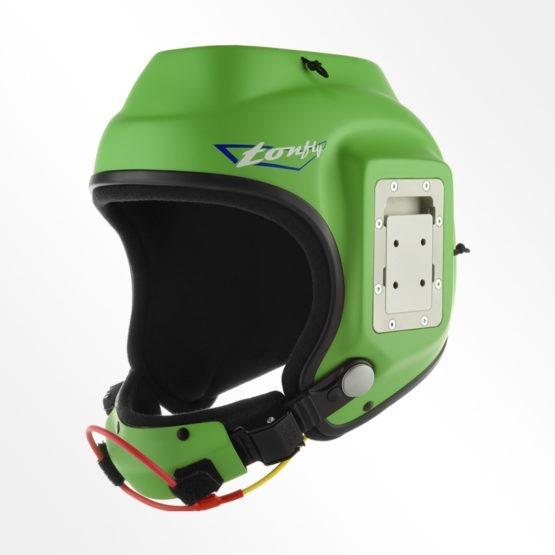Tonfly CC1 Camera Helmet Green