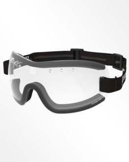 Kroops skydiving Goggles 13-Five clear lens with black strap