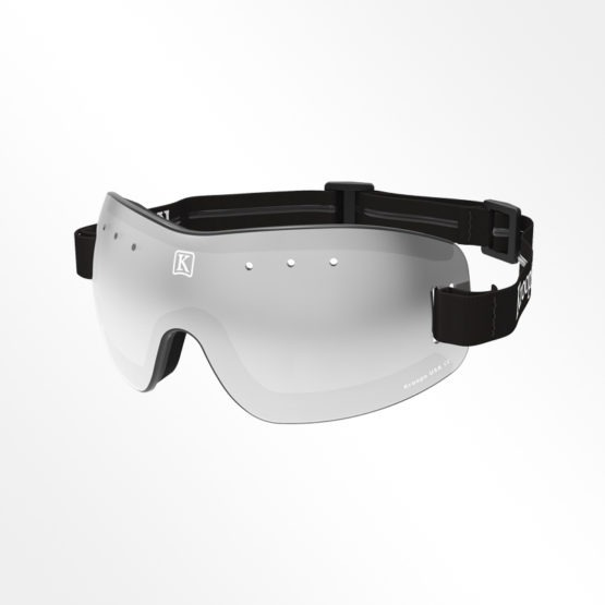 Kroops skydiving Goggles 13-Five grey lens with black strap