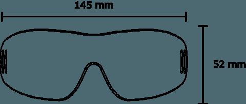 Kroops IK91 dimensions