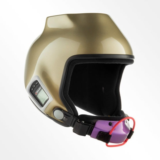 Tonfly 2.5x camera helmet gold
