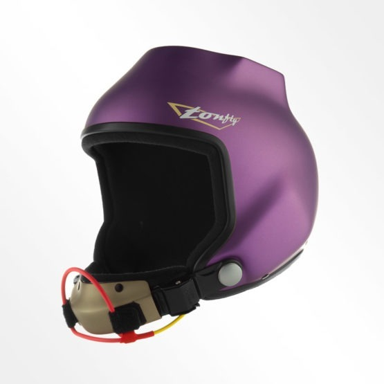 Tonfly 2.5x camera helmet purple