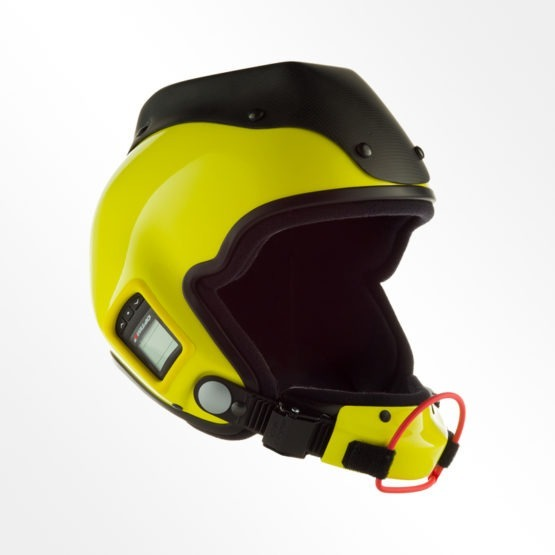 Tonfly 3x camera helmet yellow and black