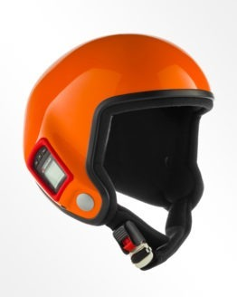 Tonfly performer open face helmet orange