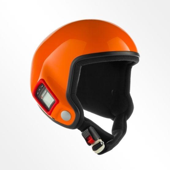 Tonfly performer open face helmet orange