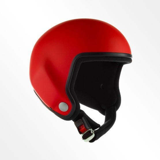 Tonfly performer open face helmet red