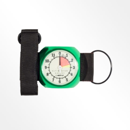 Alti-2 Galaxy analogue altimeter green product image