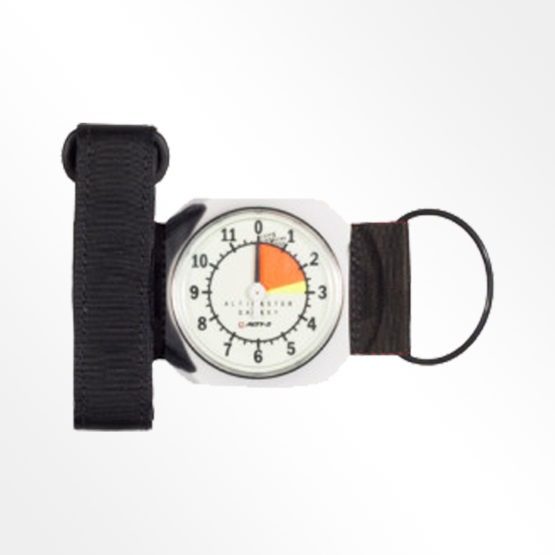 Alti-2 Galaxy analogue altimeter. Silver product image