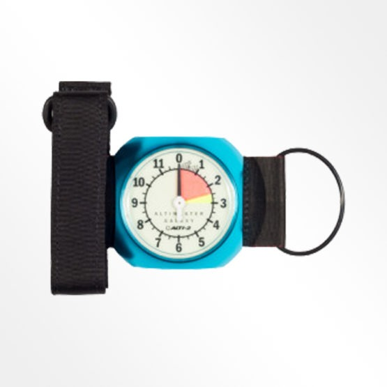 Alti-2 Galaxy Analogue altimeter. Turquoise product image
