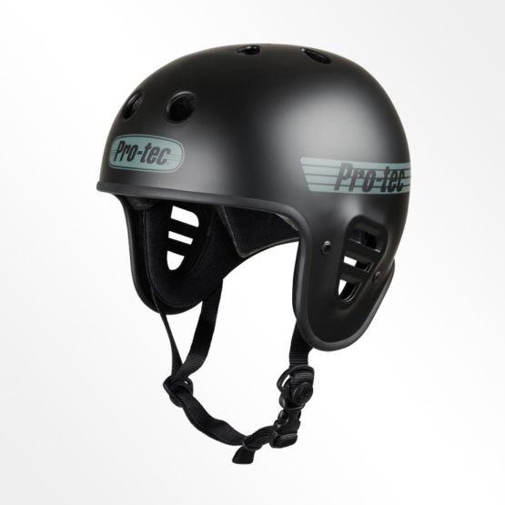 Pro-Tec open face helmet black