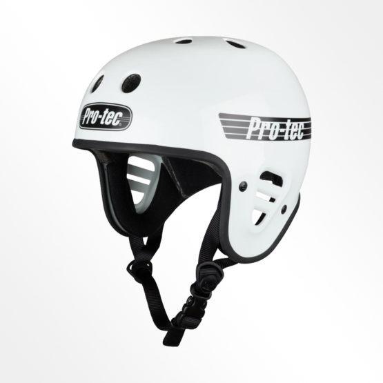 Pro-Tec open face helmet white