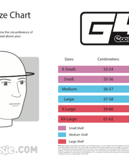 Cookie G4 size chart