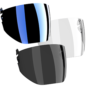 Cookie G4 Visor options