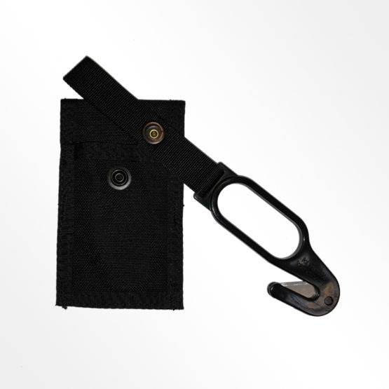 Skydiving hook knife with pouch seperated
