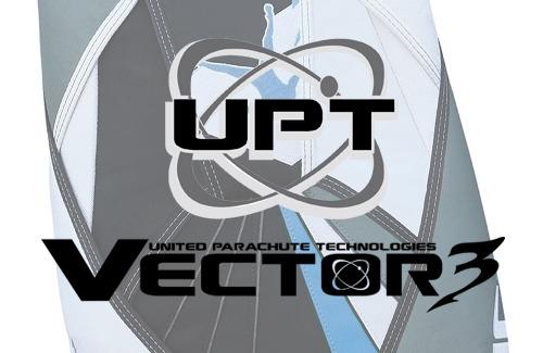 UPT Vector 3 Micron Logo