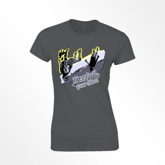 Womens Freefall gear store angle tee